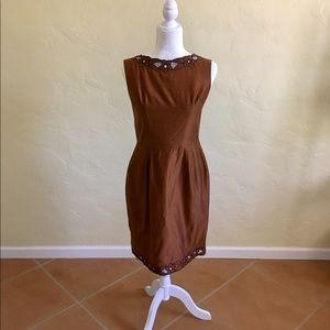 [VTG] Bronze Sheath Dress